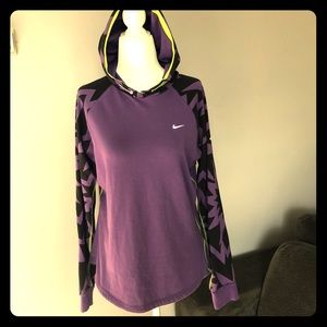 Nike Dri-Fit Stretch Hooded Shirt